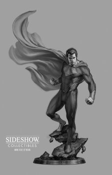 Sideshow - Man of Steel PF - (Final Concept) by No-Sign-of-Sanity