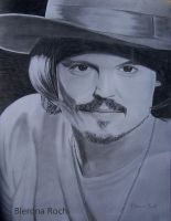 Johnny Depp by BleronaRoci