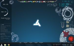 Abstergo Rainmeter by divinesaber