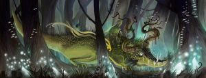 The Vale Worm by Newburgart