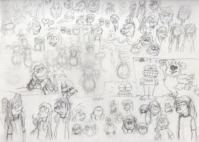 Scribbles 1/13 by Phraggle