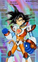 Repliroid Saiyajin by Shinobi-Gambu