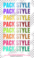 Pack Styles#1 by piibubble141