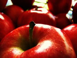 red delicious by Iguanadongreen