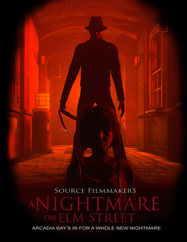 SFM's A Nightmare On Elm Street poster 3 by dominator2001