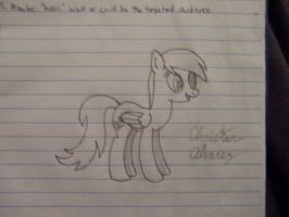 Derpy Hooves Sketch by pizzalover53
