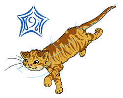 RiverClan - Leopardstar by WildpathOfShadowClan