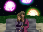 ::COMMISH61:: Fireworks by JTDP-Archives