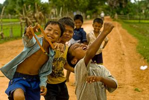 Cambodia - Kids by sevenths