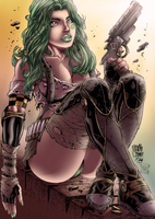 Aphrodite IX colored by Ironcid