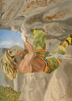 Chris Sharma Crushing by FlagstaffTarzan