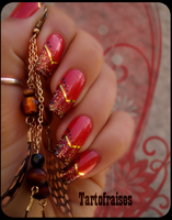 cowboy nails by Tartofraises