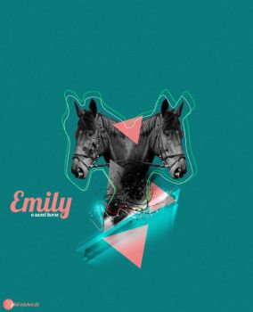 Emily a sweet horse by PNDESIGNz