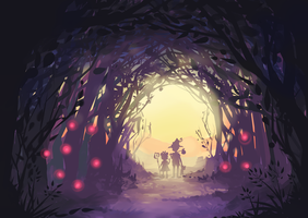 Fairy Forest by xephia