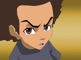 The Boondocks: Huey Freeman by DarkGX