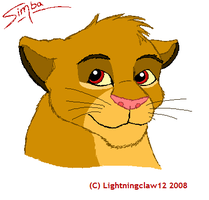 Simba :D by leafylaurel