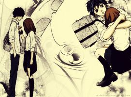Ao Haru Ride - Colored 3 by lisa-dollface
