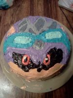 2012 Scourge Support Day Cake by VocalDawn