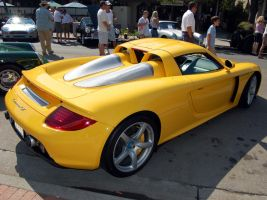 Porsche Carrera GT yellow by Partywave
