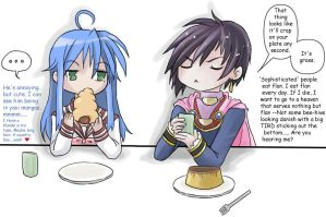 ToD + Lucky Star - pastry talk by -babykefka-