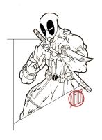 Deadpool Lines by maybeDIETER