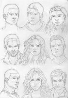 Teen Wolf Characters by margaridavinhais