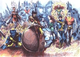 X-MEN by tomhegedus