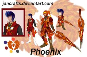 Phoenix Knight Adopt Auction [CLOSED] by jancrafts