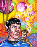 Smitten with Spock by sarahpaladin