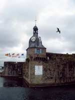 Concarneau, vieille ville. I by raiining-day