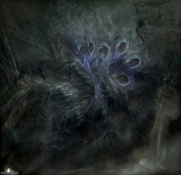 (Concept Art) The Web of Lies by ObsidianObscure