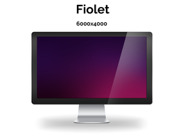 Fiolet - Wallpaper by SiMonk0
