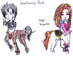 MH OCs_Song Inspired Frightmares by FatinFantine