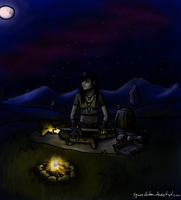 Aira Campfire by squarechicken