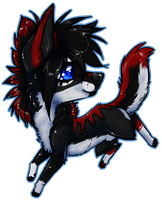 Chibi: Bloodshadowthewolf by MystikMeep