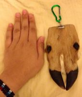 Deer Foot Keychain SOLD by YukiChana