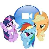 iChat (iLecture) by spikeslashrarity