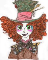 mad hatter practice by eggshellbrownies