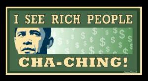 Obama Sees Rich People by Conservatoons