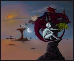 Collab- Dragon Tamer Project by avier