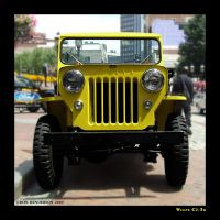 Jeep CJ3B by yankeedog
