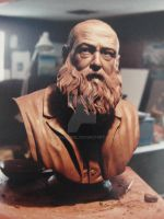 claude monet by kirkkerndl