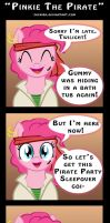 Pinkie The Pirate by Zackira