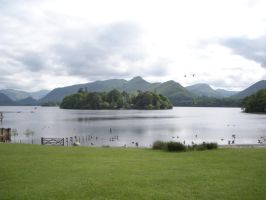 Derwent Water at Keswick by rlkitterman