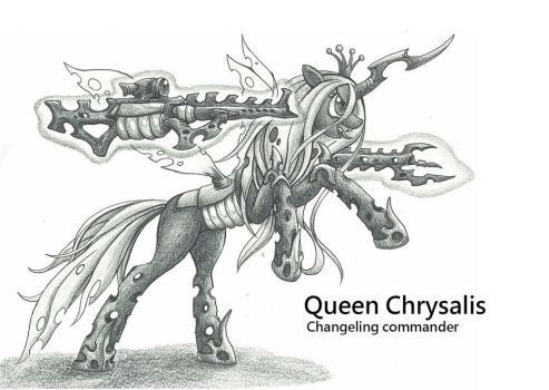 Queen Chrysalis by george5408