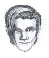 Matt Smith Doodle by Chrisily