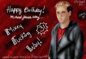 Mikey's 31th bday by IWantMyOwnVampire