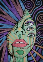 Psychedelic Experience by anitadunkl