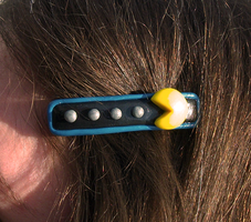 Pacman Hair Clip by KingMelissa