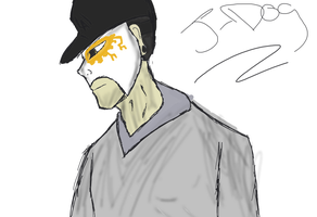 sketchy jdog by Willow0000